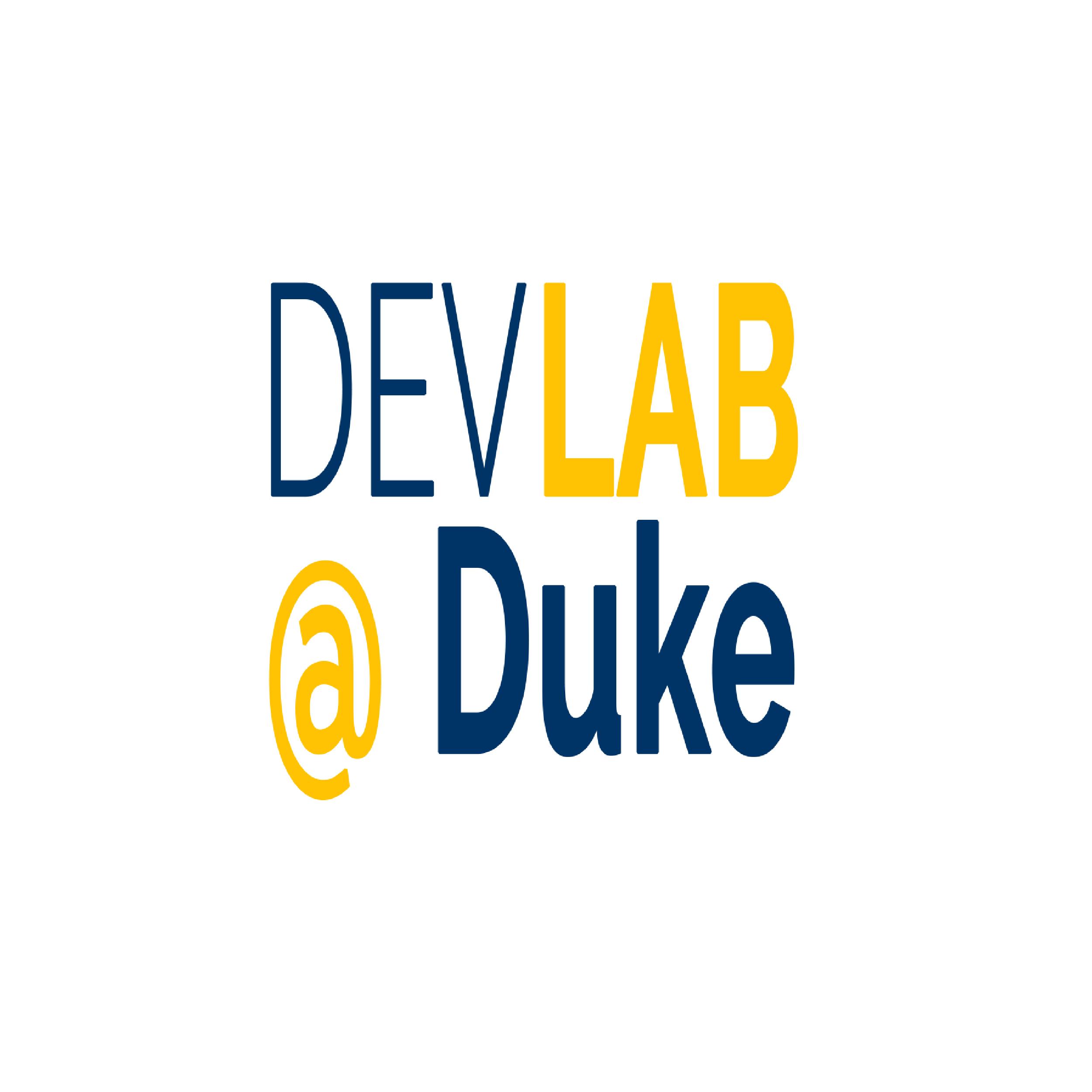 Dev Lab at Duke Logo