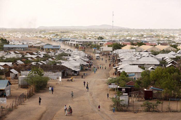 Kakuma Refugee Camp located in North-Western Kenya home to 196,120 refugees