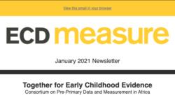 ECD Measure January 2021 Newsletter